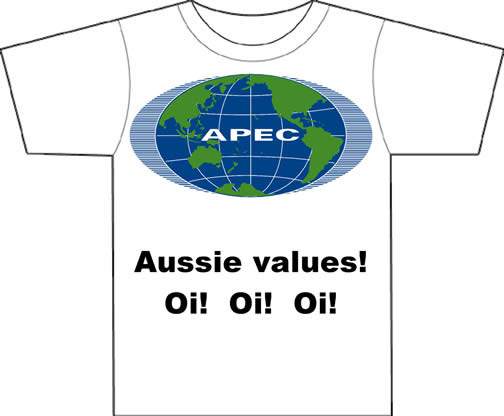 Aussie values!  Oi! Oi! Oi!