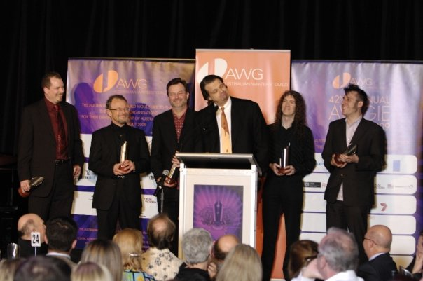 GNW writers collect AWGIE Awards