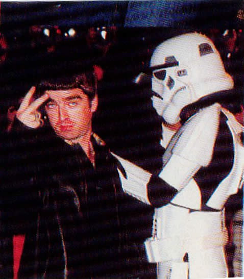 Noel Gallagher & his Trooper