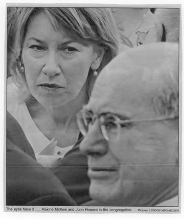 Maxine McKew eyes John Howard