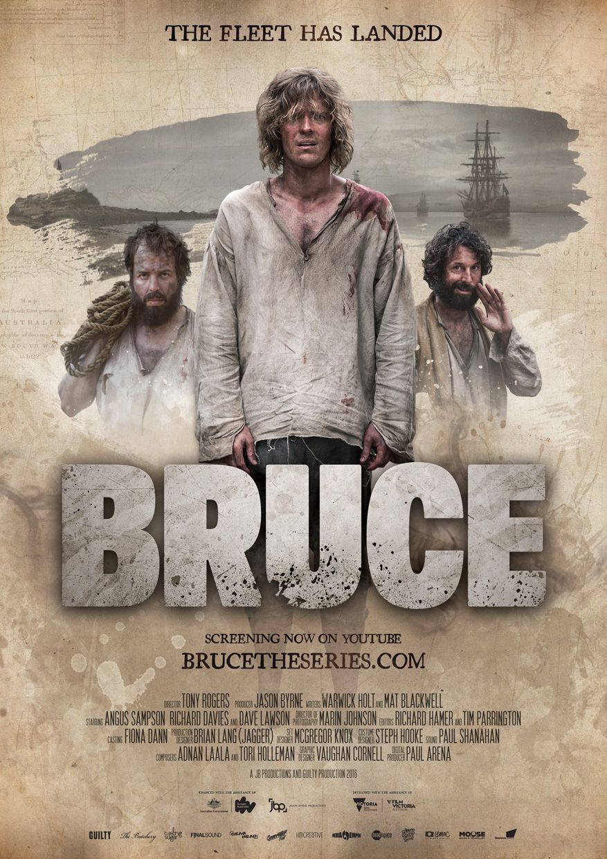 Bruce The Series poster